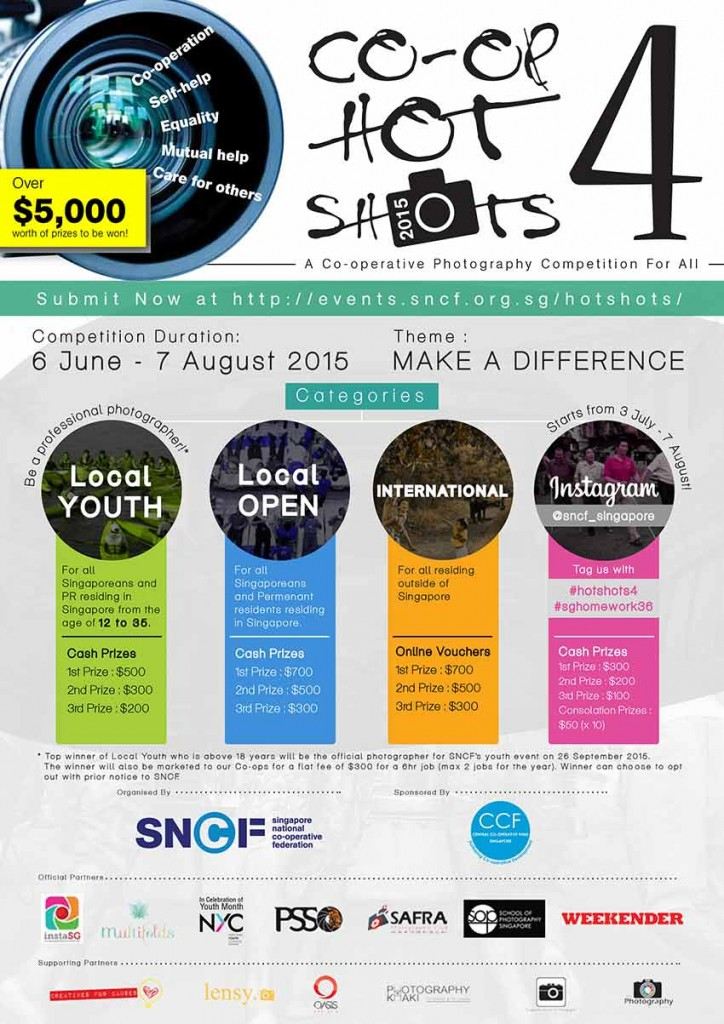 School of Photography Singapore, Photography Competition